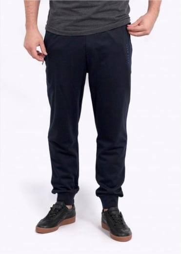 Hugo Boss Green L Cuffed Pants - Dark Blue