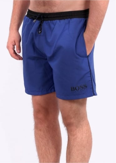 Hugo Boss Green Starfish Shorts - Medium Blue