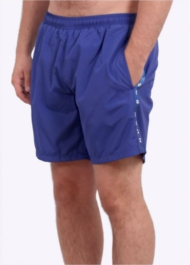 Hugo Boss Green Seabream Shorts - Medium Blue