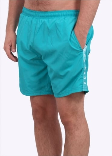 Hugo Boss Green Seabream Shorts - Turquoise / Aqua