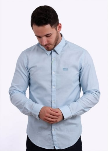 Hugo Boss Green C-Buster Shirt - Light Blue