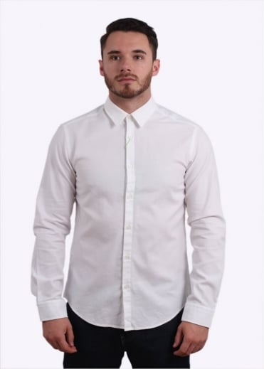Hugo Boss Green C-Buster Shirt - White