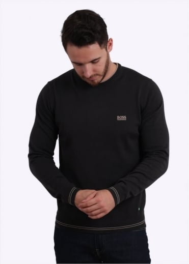 Hugo Boss Green Rime W16 Sweater - Charcoal Alternate