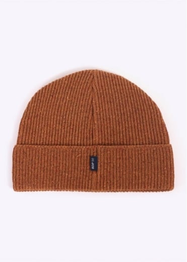 Bleu De Paname Ribbed Hat - Burnt Orange
