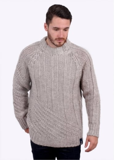 Vivienne Westwood Anglomania Jeans Long Ribs Sweater - Beige