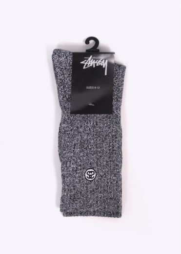 Stussy Mini SS Link Socks - Grey