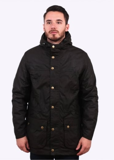 Barbour Winter Durham Jacket - Olive