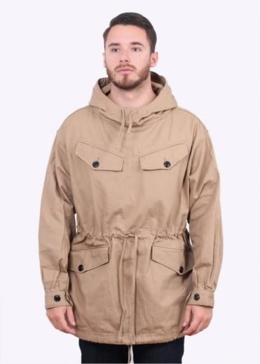 Monitaly Mountain Smock Jacket - Khaki