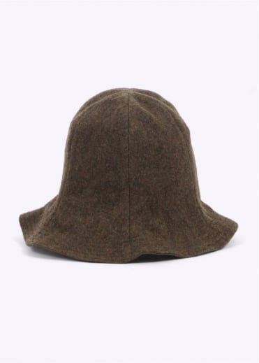 Monitaly Reversible Tulip Hat - Olive