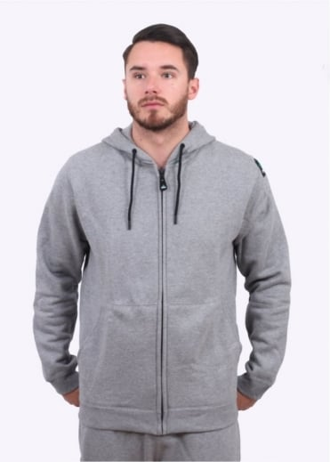 Adidas Originals Apparel EQT Full Zip Hoodie - Grey