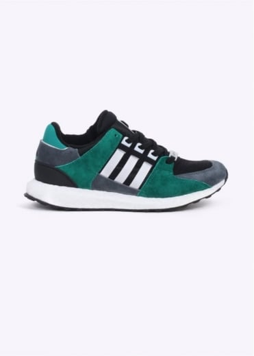 Adidas Originals Footwear EQT Support Boost - Black / Green