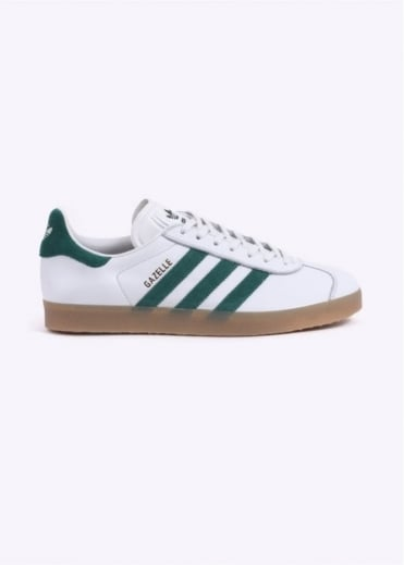 Adidas Originals Footwear Gazelle - White / Green