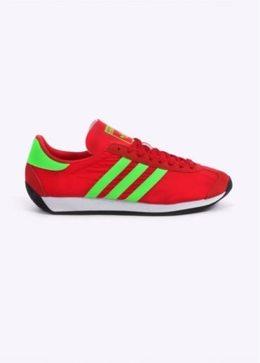 Adidas Originals Footwear Country OG - Red / Green