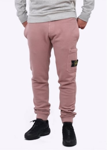 Stone Island Fleece Sweatpants - Antique Rose