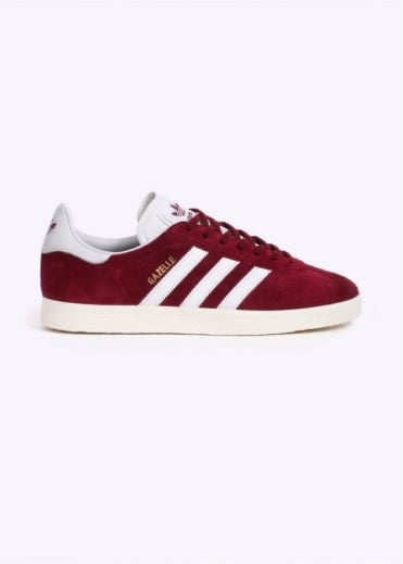 Adidas Originals Footwear Gazelle Trainers - Burgundy