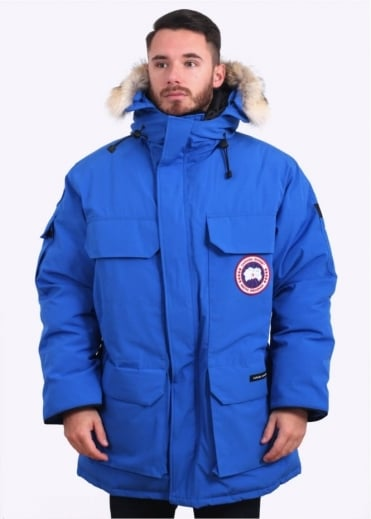 Canada Goose Polar Bears International Expedition Parka - Royal Blue
