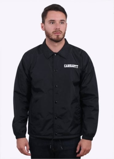 Carhartt College Coach Jacket - Black