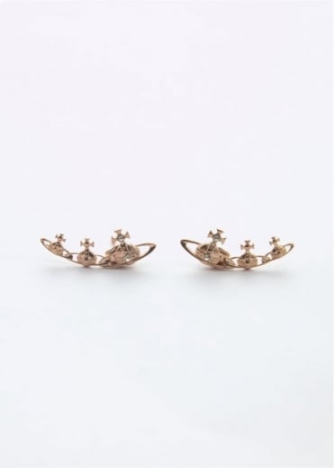 Vivienne Westwood Jewellery Candy Earrings Rose Gold
