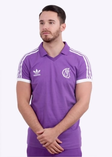 Adidas Originals Apparel Real Madrid Jersey - Black / Purple