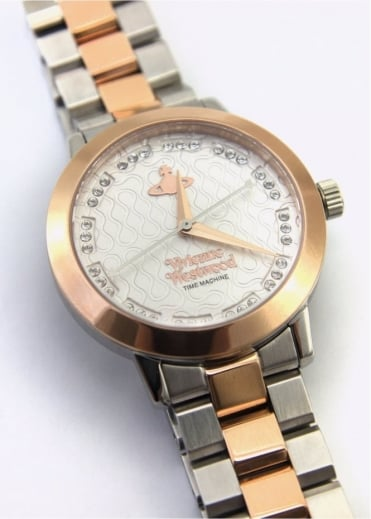 Vivienne Westwood Ladies Watches Bloomsbury Watch Silver/Rose