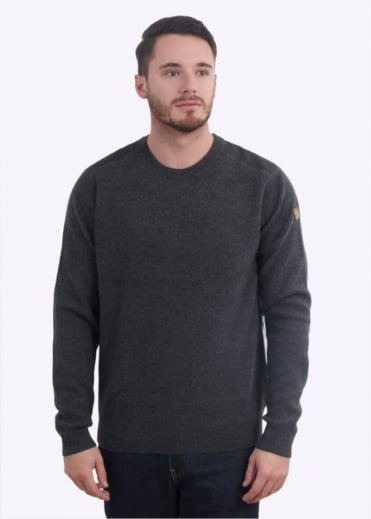 Fjallraven Sormland Crew Sweater - Dark Grey