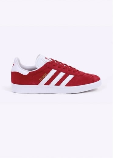Adidas Originals Footwear Gazelle Trainers - Scarlet