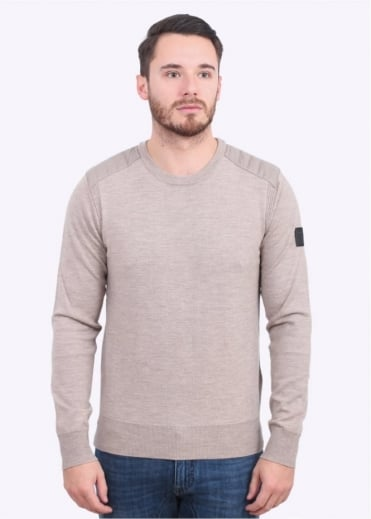 Belstaff Kerrigan Crew Sweater - Light Beige