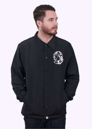 Billionaire Boys Club Classic Logo Coach Jacket - Black