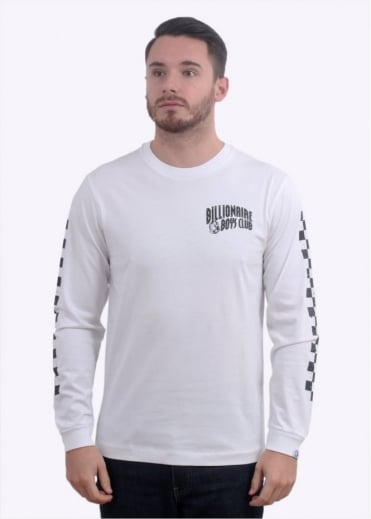 Billionaire Boys Club Mechanics LS T-Shirt - White