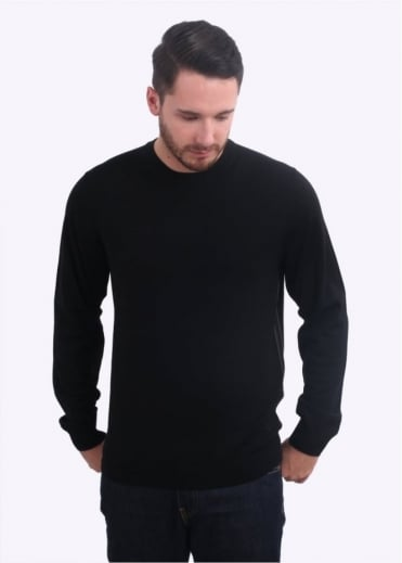 Paul Smith Pullover LS Polo - Black