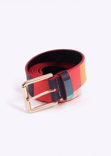 Paul Smith Artist Stripe Belt - Multi