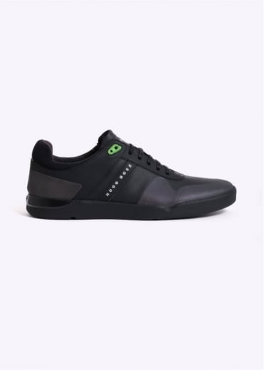 Hugo Boss Footwear Feather Tennis Shoes - Black