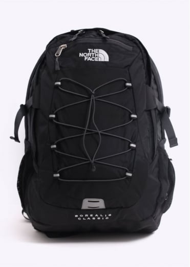 The North Face Borealis Classic Backpack - Black / Grey