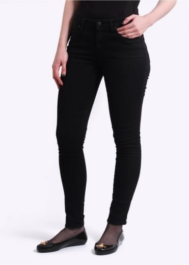 Vivienne Westwood Anglomania Jeans New Monroe Jeggings - Black Denim