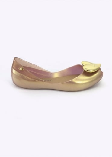 Vivienne Westwood Anglomania x Melissa Queen S/S 17 Gold
