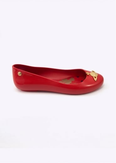 Vivienne Westwood Anglomania x Melissa Space Love S/S 17 Red Gloss