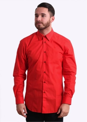 Vivienne Westwood Classic Cutaway Shirt - Red