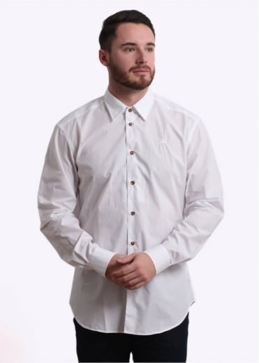 Vivienne Westwood Classic Cutaway Shirt - White