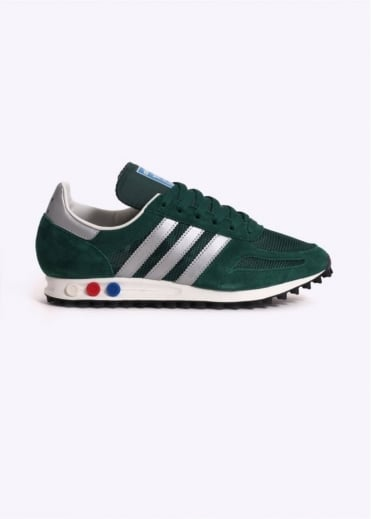 Adidas Originals Footwear LA Trainer OG - Dark Green
