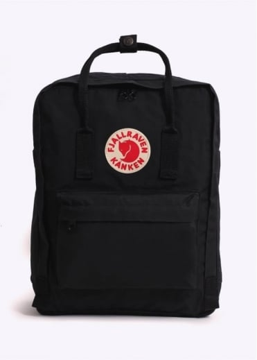 Fjallraven Kanken Bag - Black