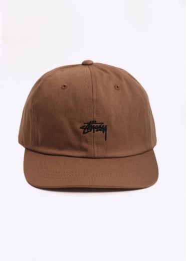 Stussy Stock Low Cap - Light Brown