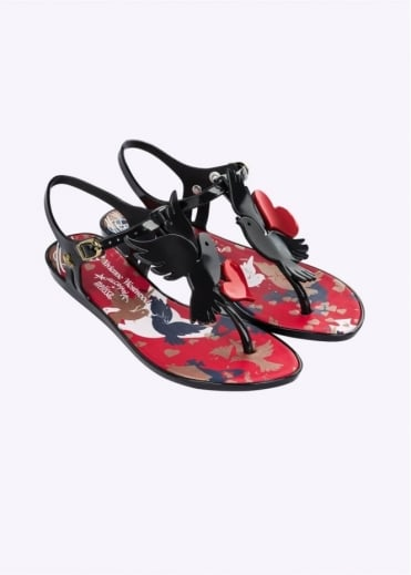 Vivienne Westwood Anglomania x Melissa Solar Dove Black Gloss
