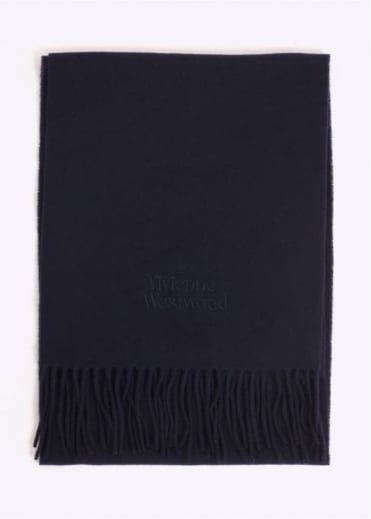 Vivienne Westwood Accessories Classic Scarf - Navy