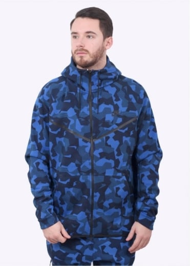 Nike Apparel Tech Fleece Windrunner Hoodie - Game Royal