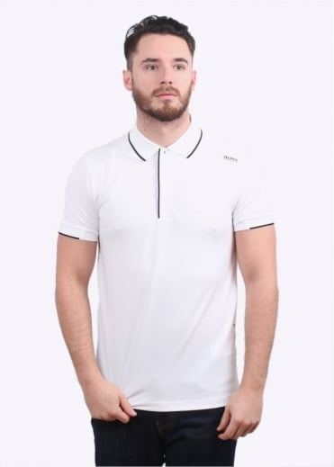 Hugo Boss Green Paule 1 Polo Shirt  - Natural