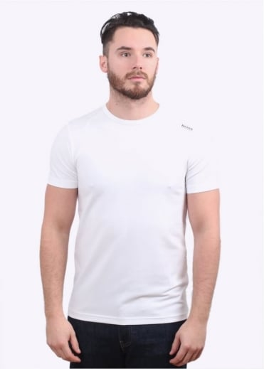 Hugo Boss Green Teenox Tee - White