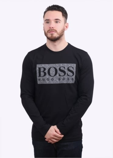 Hugo Boss Green Togn 1 LS Tee - Black