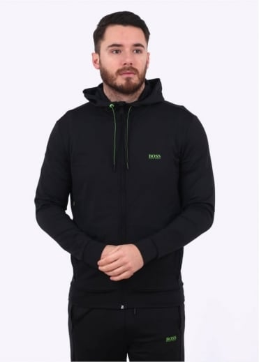 Hugo Boss Green Saggytech Jacket - Black