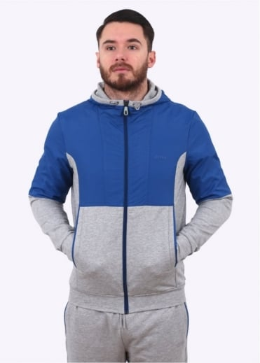Hugo Boss Green Sivon Jacket - Blue / Grey