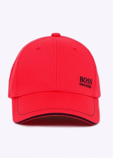 Hugo Boss Green Cap 1 Open - Red